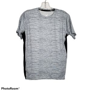 Light Gray & Black Game Time Athletic Tee